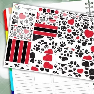 Paws Passion Planner Daily Sticker Kit