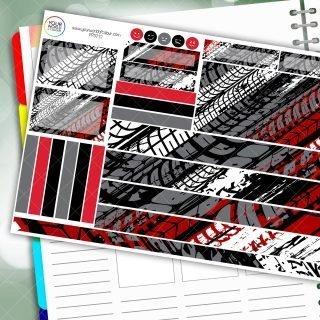 Make Tracks Passion Planner Daily Sticker Kit