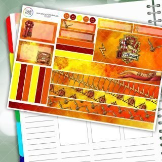 Brave House Passion Planner Daily Sticker Kit