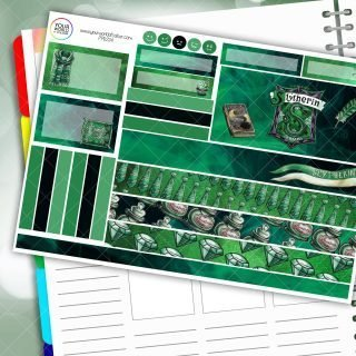 Ambitious House Passion Planner Daily Sticker Kit