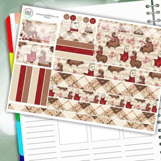 Alpaca Passion Planner Daily Sticker Kit