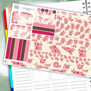Baking Passion Planner Daily Sticker Kit