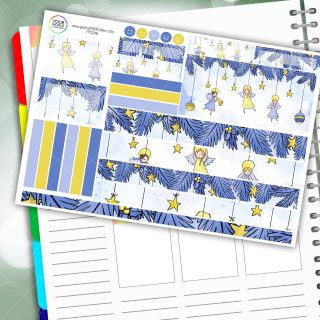 Little Star Passion Planner Daily Sticker Kit