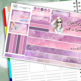 One Step Passion Planner Daily Sticker Kit