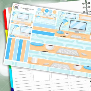 Desk Passion Planner Daily Sticker Kit