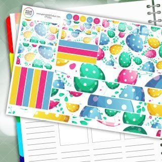 Eggciting Passion Planner Daily Sticker Ki