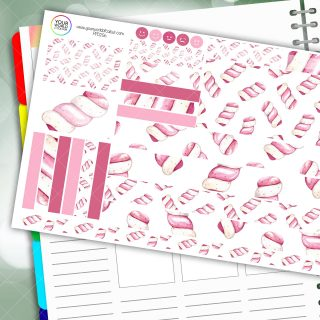 Flump Passion Planner Daily Sticker Kit