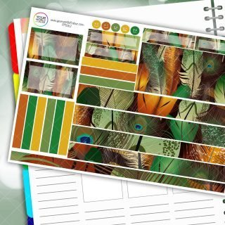 Peacock Lane Passion Planner Daily Sticker Kit