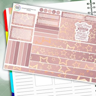 Always There Passion Planner Daily Sticker Kit