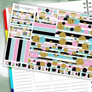 Into The Spot Passion Planner Daily Sticker Kit