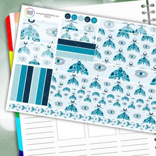 All Seeing Passion Planner Daily Sticker Kit