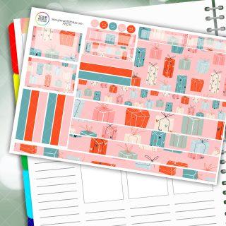 Presants Passion Planner Daily Sticker Kit