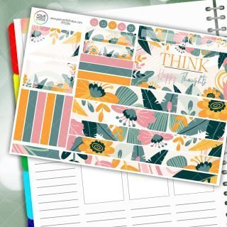 Happy Thoughts Passion Planner Daily Sticker Kit