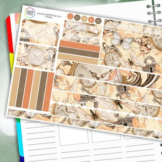Butterfly Wings Passion Planner Daily Sticker Kit