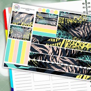 Wild Passion Planner Daily Sticker Kit
