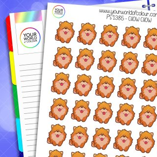 Chow Chow Planner Stickers