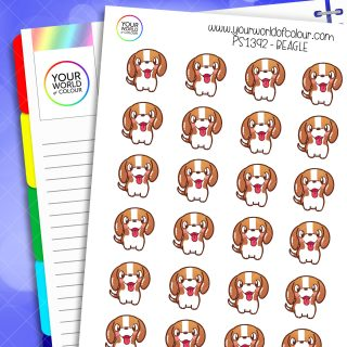 Beagle Planner Stickers 3.0