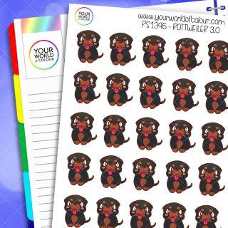 Rottweiler Planner Stickers 3.0
