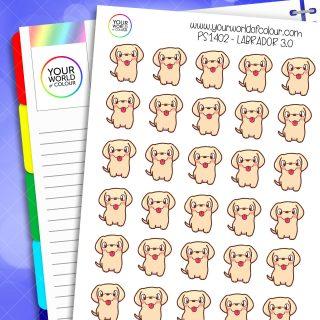 Labrador Planner Stickers 3.0