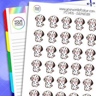 Dalmatian Planner Stickers
