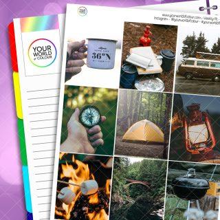 Camping Trip Weekly Kit