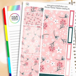 May Floral Passion Planner Weekly Kit