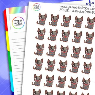 Australian Cattle Dog Planner Stickers