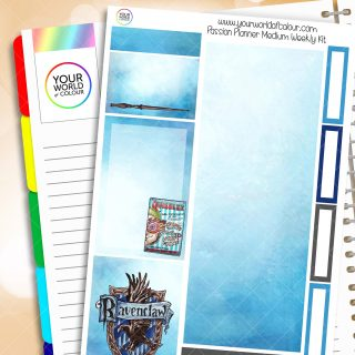 Ravenclaw Passion Planner Weekly Kit