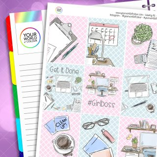 Girlboss Weekly Kit
