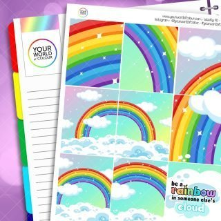 Be A Rainbow Weekly Kit