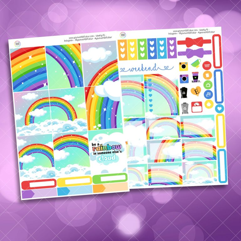 Be A Rainbow Weekly Kit mini kit