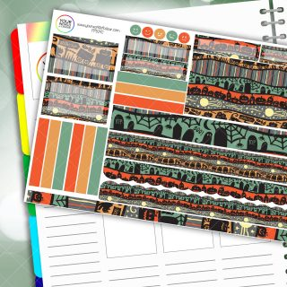 Hallow Passion Planner Daily Sticker Kit