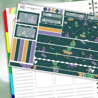Out Of This World Passion Planner Daily Sticker Kit