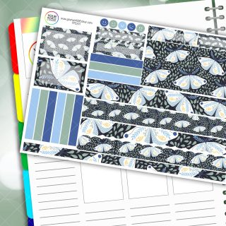 Mystic Moth Passion Planner Daily Sticker Kit