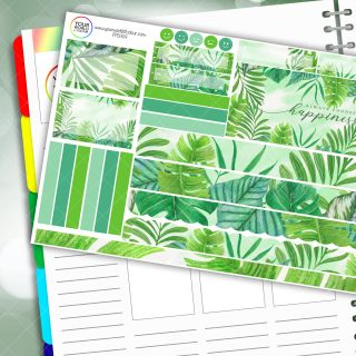 Happiness Passion Planner Daily Sticker Kit