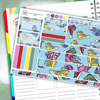 Kicks Passion Planner Daily Sticker Kit