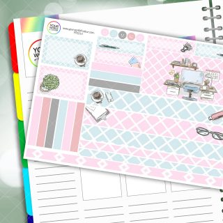 GirlBoss Passion Planner Daily Sticker Kit