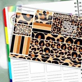 Cat Passion Planner Daily Sticker Kit