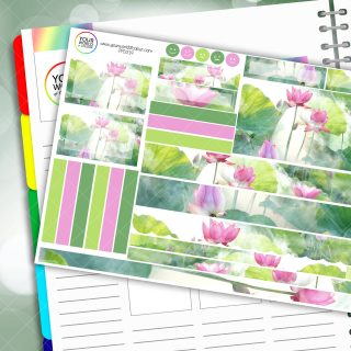 Lilly Passion Planner Daily Sticker Kit