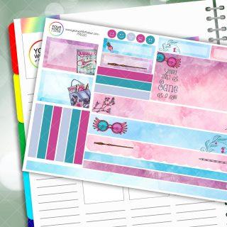 Luna Passion Planner Daily Sticker Kit