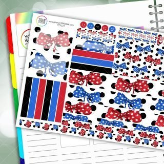 All About The Bows Passion Planner Daily Sticker Kit