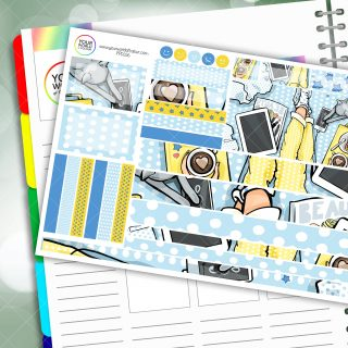 Chillax Passion Planner Daily Sticker Kit