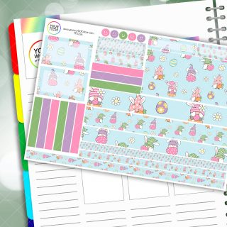 Easter Gonk Passion Planner Daily Sticker Kit