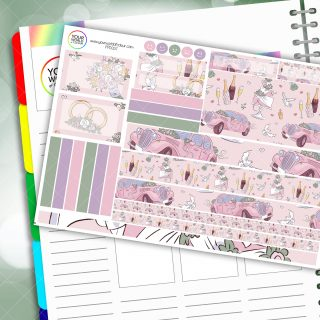 Wedded Bliss Passion Planner Daily Sticker Kit