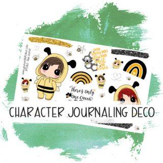 Character Journaling Deco