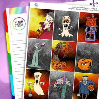 Halloween Spook Weekly Kit