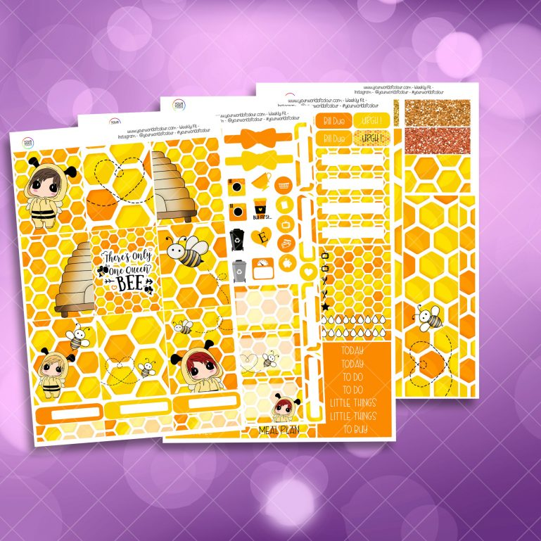 Queen Bee Weekly Kit full kit
