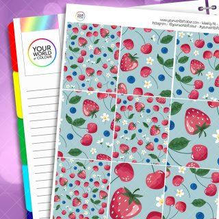 Berries and Cherries Weekly Kit