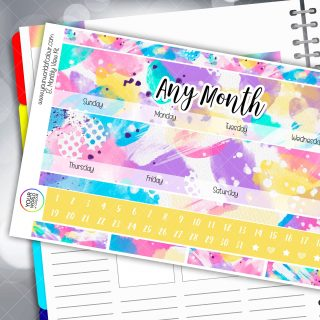 Remeber The Times Monthly Planner Sticker Kits