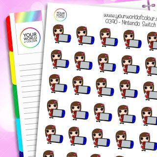 Nintendo Switch Iris Character Stickers